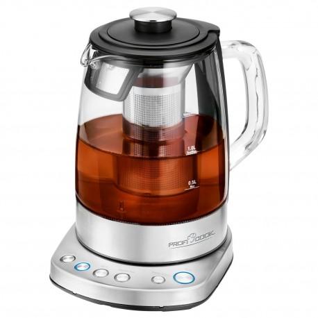 Czajnik szklany do wody i herbaty ProfiCook PC-WKS 1167 G (Wi-Fi)